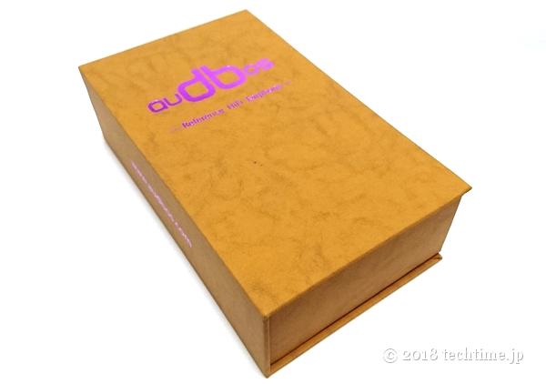 audbos k5(TENHZ k5)の外箱の画像