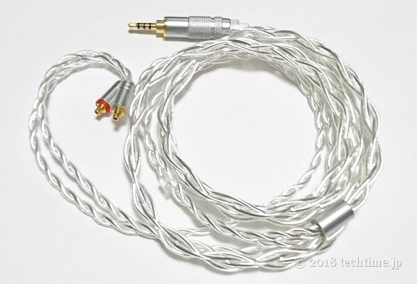 純銀4芯リケーブルYinyoo YYX4737(mmcx 2.5mm)の画像