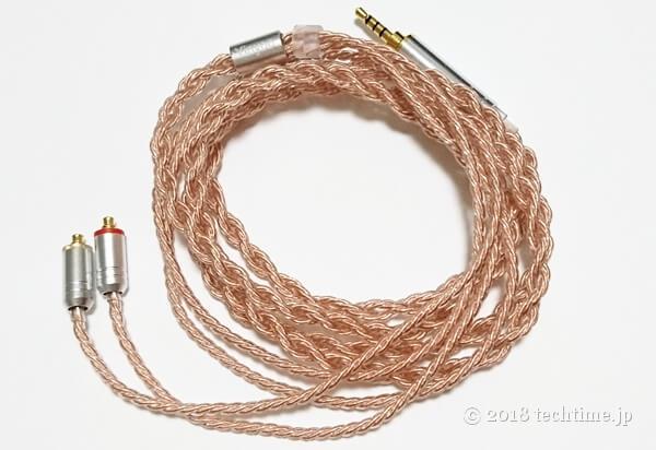 6芯銅線リケーブル Yinyoo YYX4753(mmcx 2.5mm)の画像