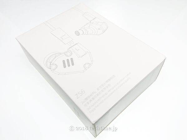 KZ ZS6の外箱の画像