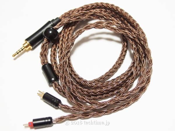 16芯OFCリケーブル HiFiHear HiF4780(2PIN 2.5mm)の画像