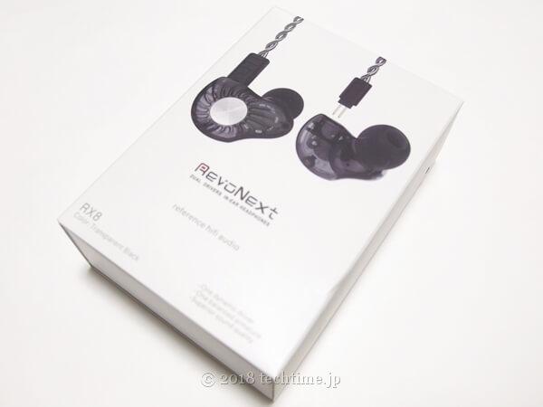 Revonext RX8 の外箱の画像