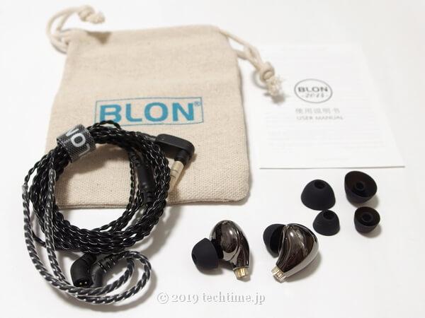 BLON BL-03の付属品の画像
