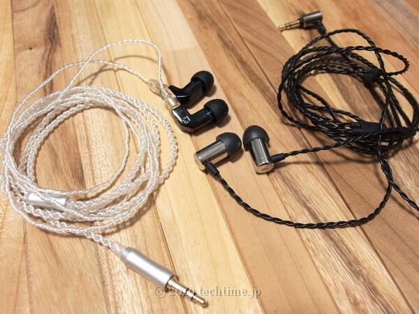 KB EAR F1とEARNiNE EN120 Silverの画像