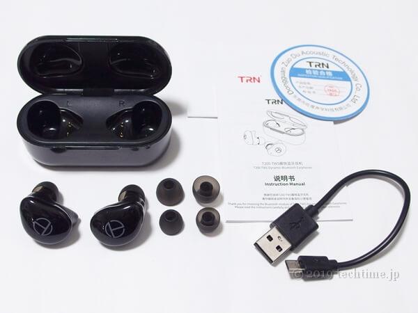 TRN T200の同梱物の画像