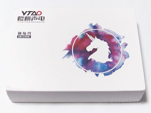 YTAO Unicornの外箱の画像