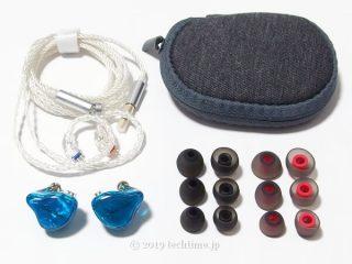 JadeAudio EA3の同梱品の画像