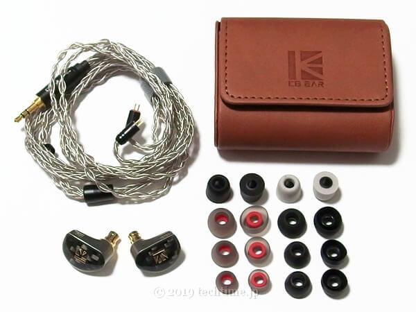 KB EAR Diamondの同梱物の画像
