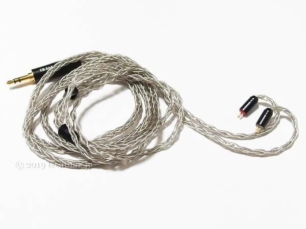 KB EAR Diamondの付属ケーブルの画像