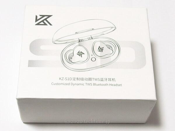 KZ S1Dの外箱の画像