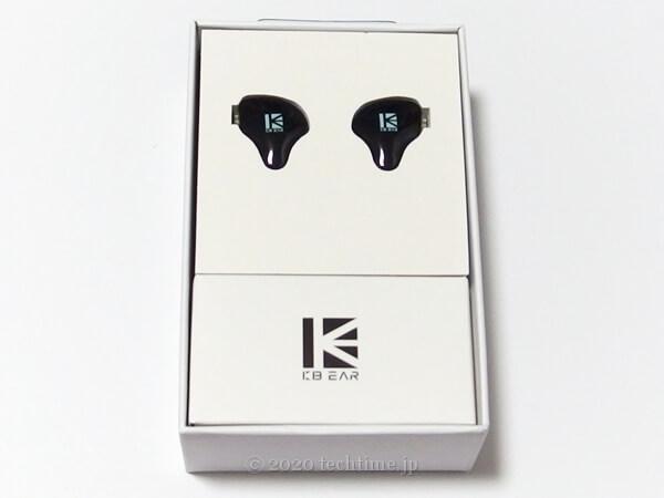 KBEAR KS2の箱の中の画像