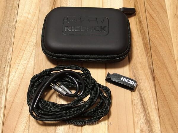 NICEHCK Blocc 2芯5N単結晶銅(UPOCC)リケーブルの同梱品の画像