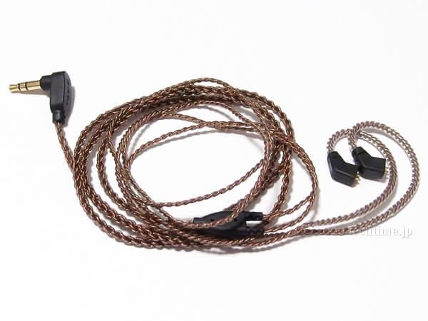 KBEAR KS2の付属ケーブルの画像