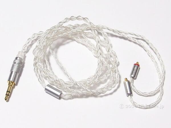 Tin HiFi T2 Plusの付属ケーブルの画像
