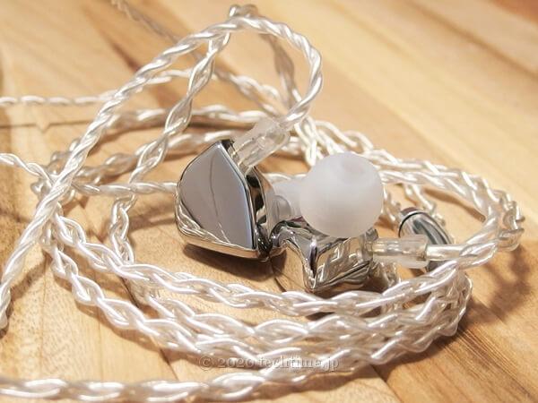 HZSOUND Heart Mirror『心鏡』のハウジング付近拡大画像