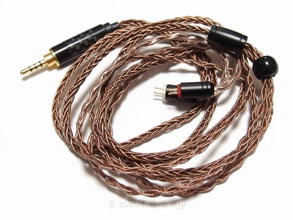 NICEHCK CT3(2pin 2.5mm)の画像