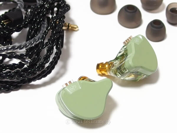 CCZ Emeraldの同梱物の白背景画像
